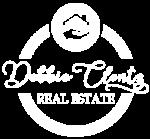 Debbie Clontz Team Logo White